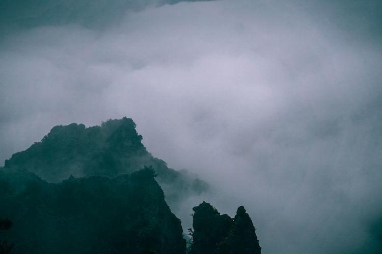 // finding fog