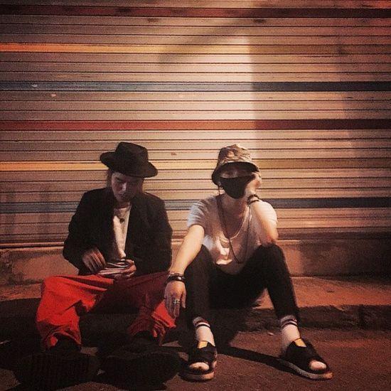 good night ELF have a nice dream Yesung Night Mask Streetstyle RyuDoyeon @yesung1106 @maps_ryu Fasting