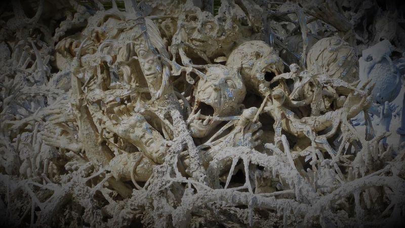 Beige Braun Einsam Einsamkeit Skelette Backgrounds Close-up Day Dunkel Full Frame Human Bone Human Skull Indoors  Kunst Nature People Science Sterben Tot