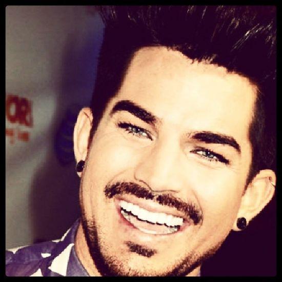 Adamlambert Adam  Glambert Perfect cute smile usmileismile lovehis loveyou love amazing life