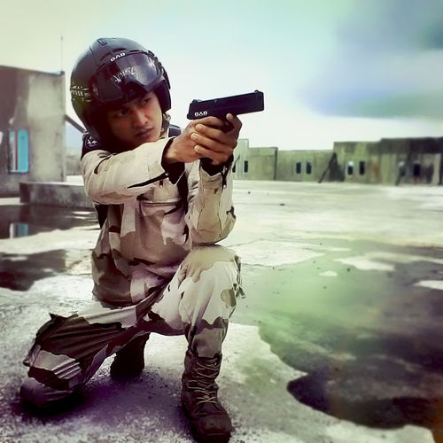 Gun Fighter Command Memorial Airsoft Trakupu Photography Militerindonesia Cool