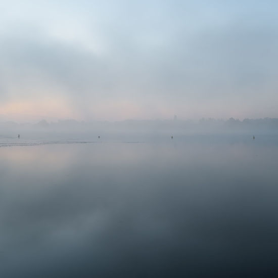 Havelland Germany Beauty In Nature Day Fog Hazy  Hohennauen Idyllic Mist Nature No People Outdoors Reflection Scenics Sea Sky Sunset Tranquil Scene Tranquility Water