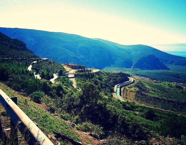 Road To The Sea Galaxidi Greece