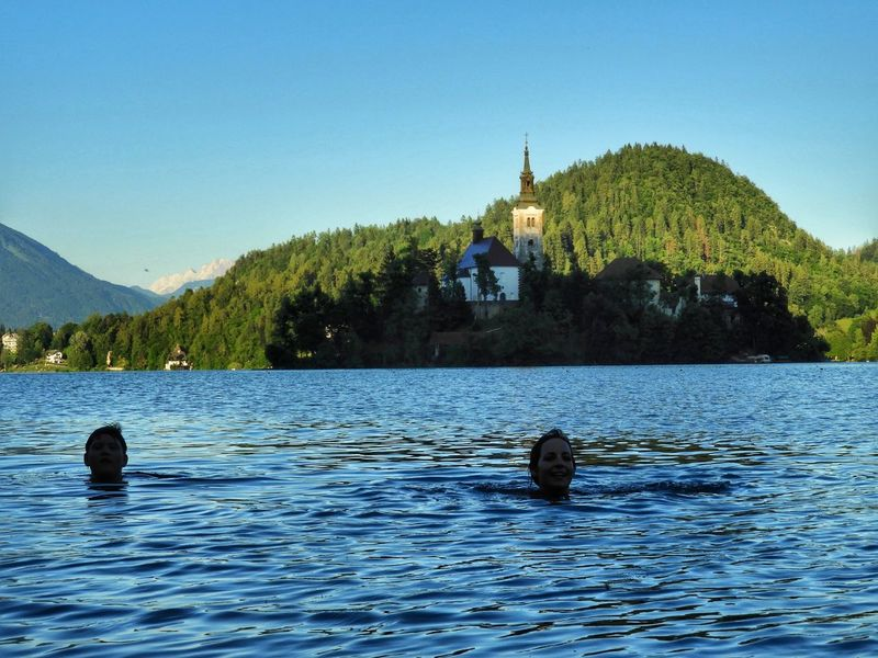 Lake Slovenia ❤ Slovenia Bled Slovenia Bled Iloveslovenia Double Swimming