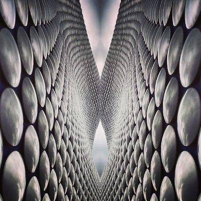 Symmetry Symmetryporn Symmetrybuff Abstracting_architects mirrorgram bullring birmingham