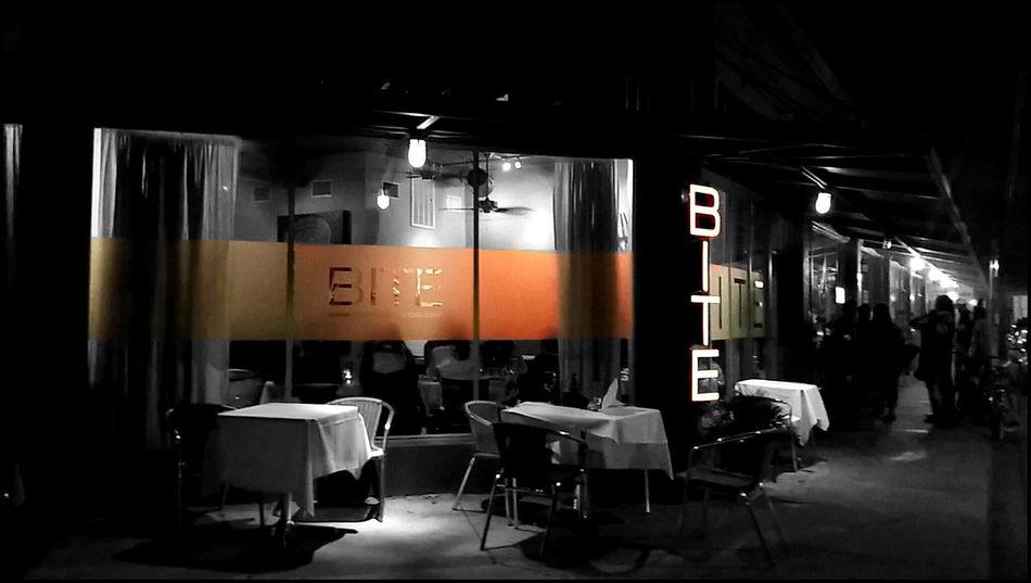 ... BITE Photography Black & White Colorsplash Restaraunt