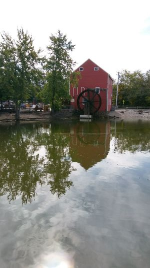 Reflection Smithville Nj My Smartphone Life Eyemphotos Historic Beauty In Nature Mill Wheel Architecture Old Buildings Nature Lake Lost In The Landscape Connected By Travel