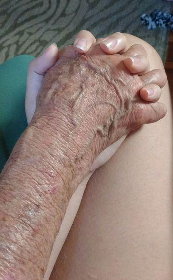 Grandma hand. Grandmas Love❤ Grandma Hand Beautiful EyeEmNewHere