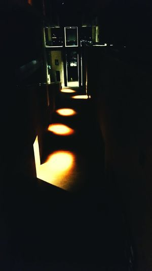 Darkness And Light colonnade