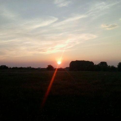 украина Закат солнца