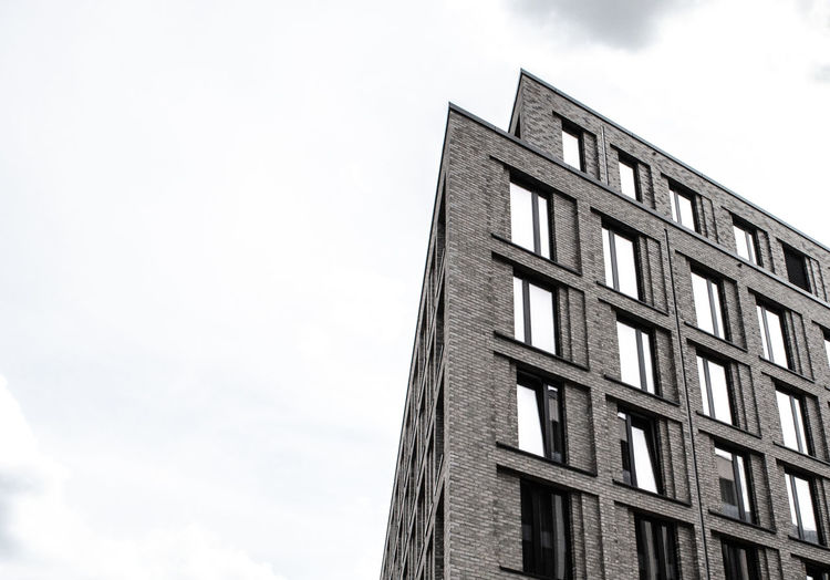 Berlin Photography Brick Wall Apartment Architecture Berlinstagram Building Building Exterior Built Structure City Cloud - Sky Day Low Angle View Modern Nature No People Office Office Building Exterior Outdoors Pattern Residential District Sky Tall - High Tower Window Window Frame