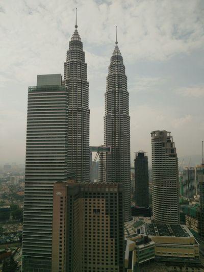 Skyscrapers against sky