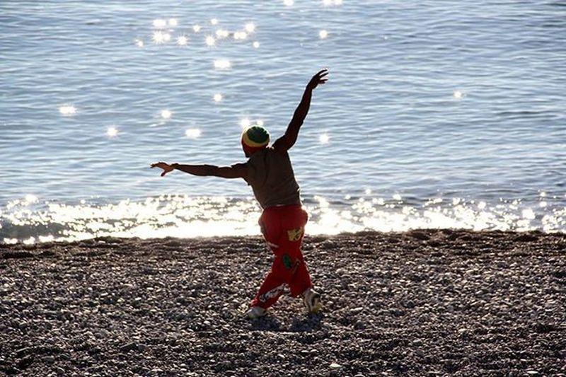 Persona Ragazzo Mare Sea Riflesso Taichi