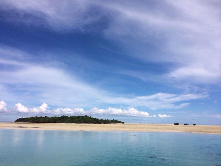 Nabucco island is awesome Life Is A Beach Little Heaven Sunset #sun #clouds #skylovers #sky #nature #beautifulinnature #naturalbeauty #photography #landscape Nature #landscape #photography #forest #moutain #clound #sky #blue #peace