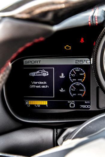 Cockpit Convertible Convertible Car Dashboard Digital Display Ferrari California T HS Luxury Car Retractable Roof