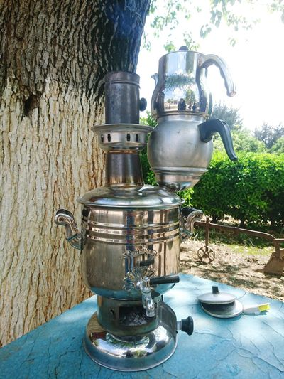 Semaver Semaverkeyfi çay Tea Tea Time Outdoors No People EyeemTeam Kozan Keyf