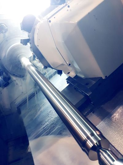 Business Finance And Industry No People Stainless Steel  High Angle View Machine Tool
