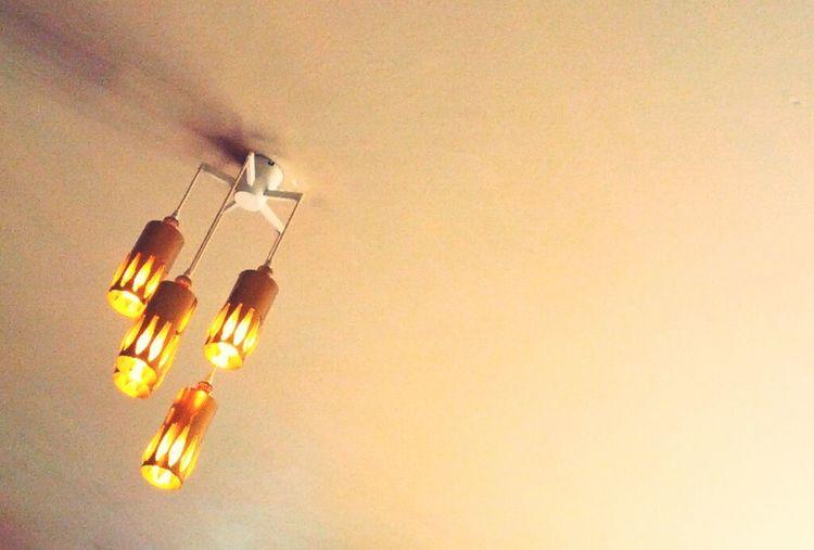 Illuminated electric lamp