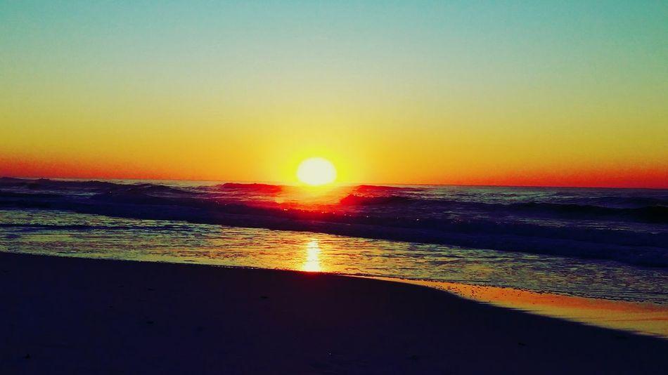 Sunrise On The Beach Sunrise Colorful Sunrise Seaview
