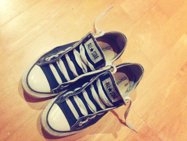 Shoes Sneakers Converse Love Them I Love Converse Converse Love Allstars Navy Blue