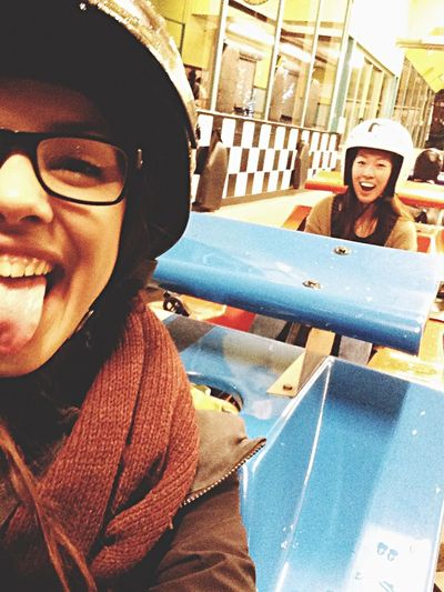 Go Karting with Bae  Fun Park Asian  Cutie