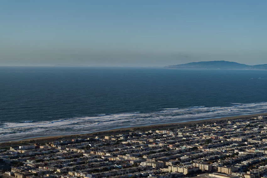 I hope that Pacific is as blue as it has been in my dreams. Beach Sand Water Helicopter Shot High Angle View Pentax PENTAX K-1 Pentax 24-70 F/2.8 San Francisco California Bay Area City Cityscape Sky Surf USA Bay Area Seascape Coast Surf Horizon Over Water Shore Residential Structure Coastline Wave Housing Settlement Coastal Feature TOWNSCAPE California Dreamin