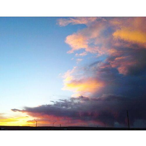 When the sky looks like NeverLand.