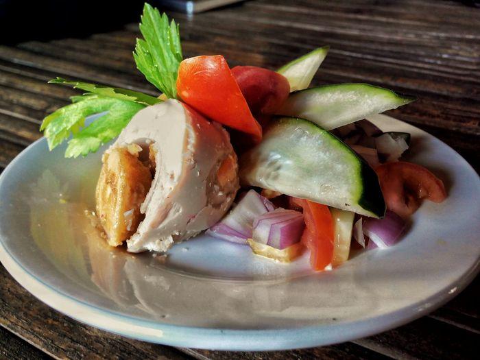 Salted egg @Eyeem Eyeemfivesenses/taste EyeEmFiveSenses Kulotitayclicks Food On The Go