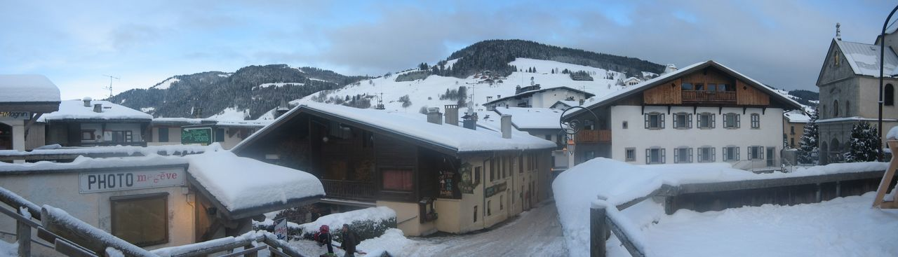 Photos of Megève, France 2010 Architecture Building Exterior Built Structure City Cold Temperature Day House Mountain Mountain Range Nature No People Outdoors Roof Scenics Ski Lift Sky Snow Snowing Tree Village Winter