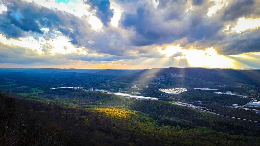 Sunset Outdoors Travel Destinations Dramatic Sky Beauty In Nature Scenics Cloud - Sky Nature Water No People Chattanooga Tennessee Chattanooga Tennesseephotography Beauty In Nature Landscape Nature Rural Scene Tennessee!  Tennessee!  Sky Tranquility Tranquil Scene USA AmericaDay