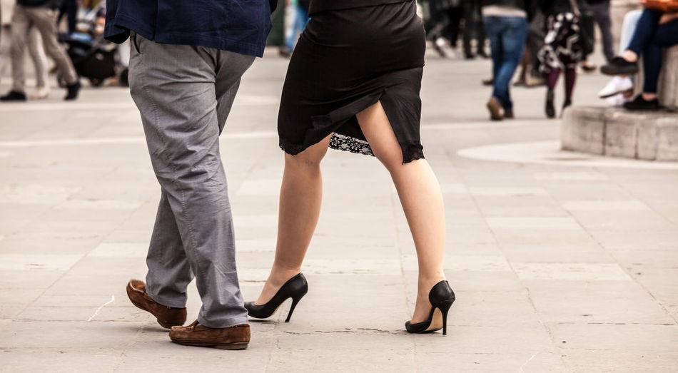 Walking.... City Life Day Fashion Footwear Lifestyles Low Section Men Outdoors Person Selective Focus The Storyteller - 2016 Eyeem Awards The Street Photographer - 2016 EyeEm Awards