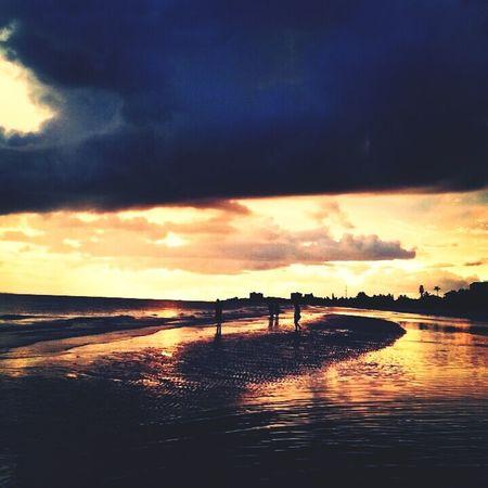 Sandbar sunset First Eyeem Photo
