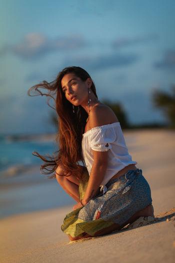 💃🏽Like a gentle wind🏝 Godscreation Jesus Is King Grand Turk, Turks & Caicos Turks And Caicos Sigma 50-100 Sunset Beach Water Beautiful Woman Beauty Beach Sea Portrait Young Women Sand Females Long Hair