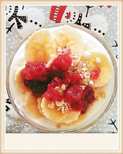 Breakfast. Morning Breakfast ♥ Banana Yogurt♡♡♡♡♡ Avena Cereals Mermelada SPAIN Saludable Delicious ♡ Sano! Iloveit Phone Edited Liikke?? :) Likeforlike #likemyphoto #qlikemyphotos #like4like #likemypic #likeback #ilikeback #10likes #50likes #100likes #20likes #likere PhonePhotography First Eyeem Photo Photography Photo Phonecamera Lovephotos Colors Likeeyeem