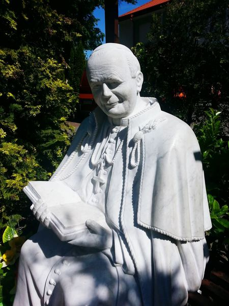 Human Representation Sculpture Statue Art And Craft Art Pope Monument Pope John Paul Two Pope John-Paul II Pope John Paul II Pope John Paul II Sculpture No People Historic Religion Religious Art Władysławowo Poland Poland 💗 Polska