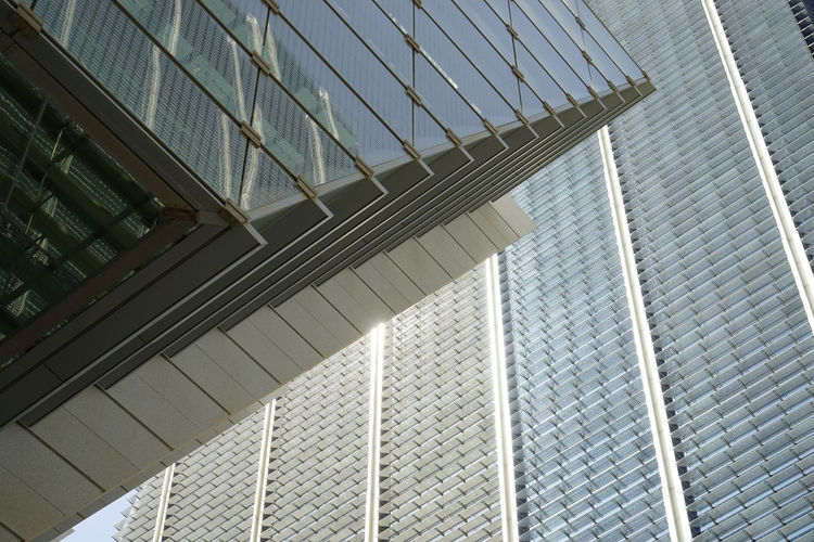 Architecture Galleria Angle Buidling Detail Glass Mall No People Towers
