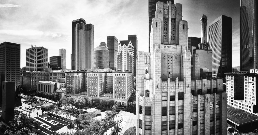 From The Rooftop Beautiful Downtown Blackandwhite Black And White Light And Shadows Taking Photos Exploring New Ground DowntownLA Black & White