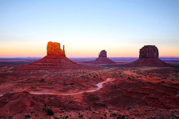 Quest - Sunset in Monument Valley Arizona Sunset Monument Valley Q Landscapes With WhiteWall The Great Outdoors - 2016 EyeEm Awards