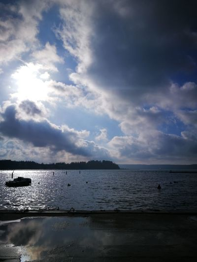 Water Cloud - Sky Sea Nature Tranquility Landscape Scenics Beach Outdoors Mountain Travel Destinations Sky Blue Beauty In Nature Vacations No People Day