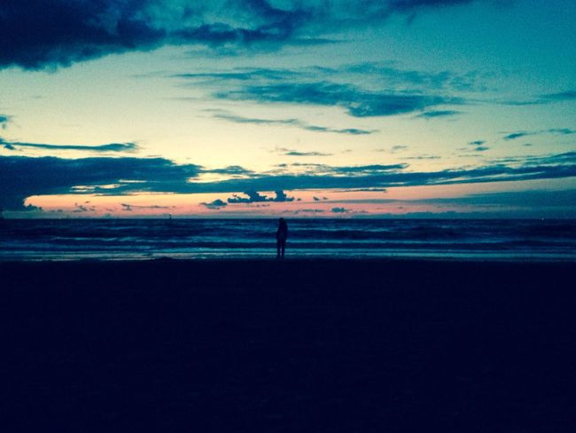 Beach Sunset Beautiful Life