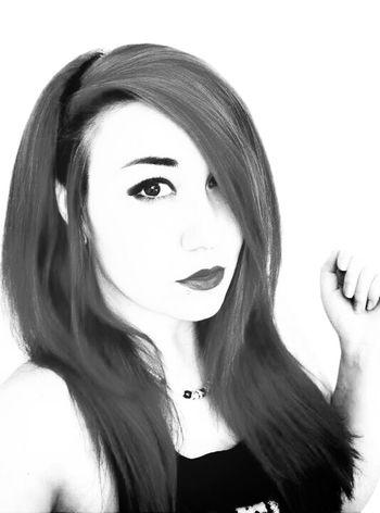 portrait Black And White Portrait Self Portrait Makeup