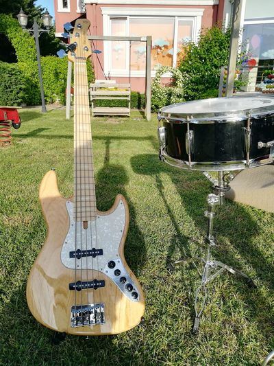 Bass Drum Music Marcusmiller Sire7 Saund Grass Day Guitar No People Outdoors