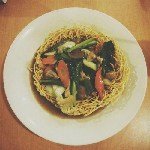Yummy & Crispy ! Instagram Noddle Instaghesboro Instanusantara capture food