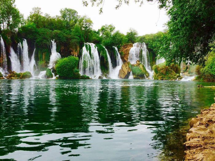 Lake Waterfalls