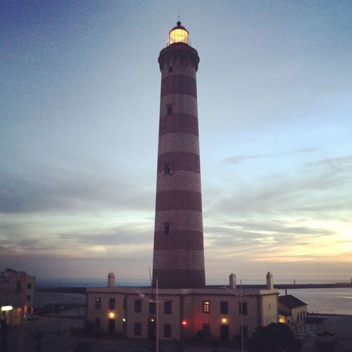 farol da barra Architecture Building Exterior Famous Place International Landmark Lighthouse No People Protection Tower