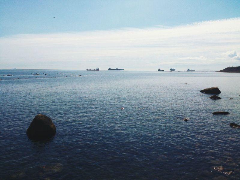 Bahía de Algeciras. España Cadiz Algeciras