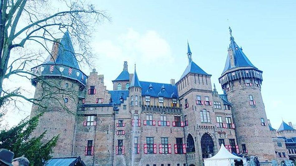 Utrecht and its suburbs one day return trip. Relax Dayoff Castle Withfriends Dehaar Christmasfair Iloveit Niceweather Luxury