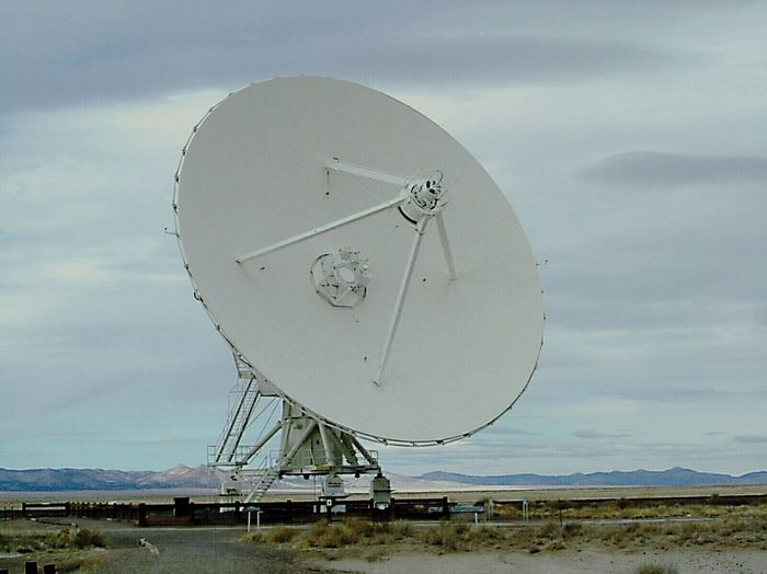 VLA Very Large Array Radiotelescope Astronomy New Mexico Search For E.t. Listen Satellite Dishes Desert