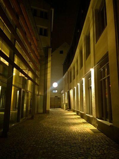 Architecture Modern Architecture City Lights Night Lights