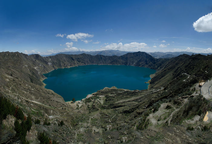 One of the thing that astonish me in Ecuador is how the things in blue there has a incredible vivid colour. Beauty In Nature Blue Ecuador Equador Lago Lake Landscape Montanha Mountain Nature No People Outdoors Physical Geography Quilotoa Sky Tranquility Viagem Volcanic Crater Water 厄瓜多尔 旅游 EyeEmNewHere Lost In The Landscape